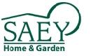 logo saey home & garden